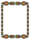 Frame in the Russian style Royalty Free Stock Photo