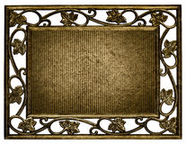 Frame of rusty isolated Stock Photo