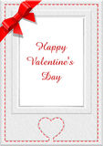 Frame for saint valentine's  day Stock Image