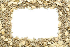 Frame of Seeds Royalty Free Stock Image