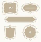 Frame Set. Illustration of a frame set Royalty Free Stock Photography