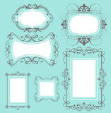Frame set Royalty Free Stock Photography