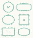 Frame Set. Illustration of a frame set Stock Photography
