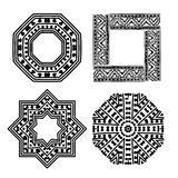 Frame set with ethnic handmade ornament for your Royalty Free Stock Images