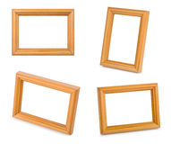 Frame set. Isolated on white background Stock Photo
