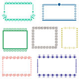Frame set vector Royalty Free Stock Photo