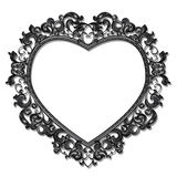 Frame in the shape of heart for picture or photo Stock Photos