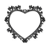 Frame in the shape of heart for picture or photo Royalty Free Stock Photos