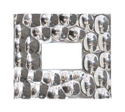 Frame silver Stock Images
