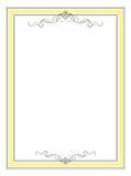 Frame simples Fotografia de Stock