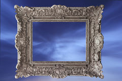 Frame and sky Royalty Free Stock Photos