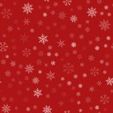 Frame of snowflakes. Christmas festive background. To design posters, postcards, greeting, invitation for the new year. Vector illustration Royalty Free Stock Images
