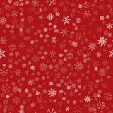 Frame of snowflakes. Christmas festive background. To design posters, postcards, greeting, invitation for the new year. Stock Photography