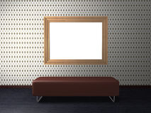 Frame and SOFA Stock Images