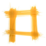 Frame of spaghetti Stock Image