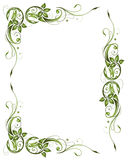 Frame, spring, leaves Royalty Free Stock Photo