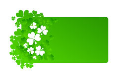 Frame for St Patrick's Day. In green colors Royalty Free Stock Image