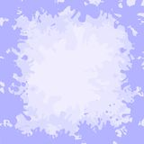 Frame from stains. Abstract background, frame from lilac and white stains blots Stock Photography