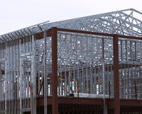 frame steel Στοκ φωτογραφίες με δικαίωμα ελεύθερης χρήσης