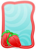 Frame strawberry Royalty Free Stock Photo
