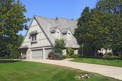 A Frame Style Luxury Estate Stock Photo