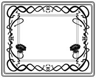 Frame style Modern Royalty Free Stock Photos
