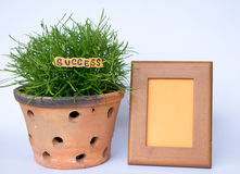 Frame of success Royalty Free Stock Photography