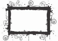 Frame sujo ilustração stock