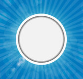 Frame on Sunny Shiny Background Vector Stock Images