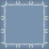 Frame swirling decorative elements ornamental Royalty Free Stock Photo