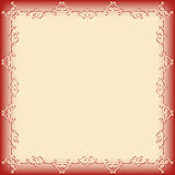 Frame swirling decorative elements Royalty Free Stock Photos