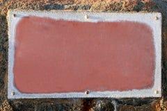 Frame tegen de Achtergrond van de Rots Stock Afbeelding