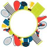 Frame tennis Stock Photos