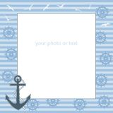 Frame for text or photo from the anchor Stock Photos