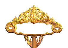Frame of Thai ancient art Royalty Free Stock Image