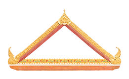 Frame of Thai ancient art Stock Images