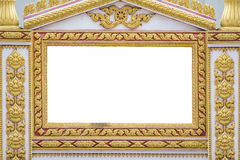 The Frame of Thai ancient art Stock Images