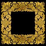 Frame thai art pattern Stock Photos