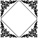 Frame of Thai pattern Stock Photography