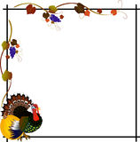 Frame for Thanksgiving Day. Royalty Free Stock Photos