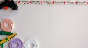Frame on the theme `Handmade` stock photography