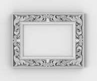 Frame with thread Royalty Free Stock Image