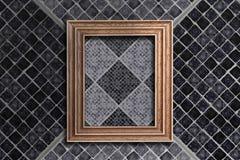 Frame and tiles Stock Photos