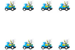 Frame of Toy cars Stock Photos