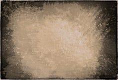 Frame uitstekende sepia textuur Stock Afbeeldingen