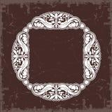 Frame in uitstekende stijl Royalty-vrije Stock Foto's