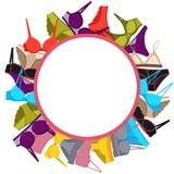 Frame underwear Stock Images