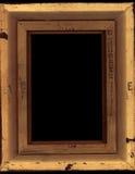 Frame, Unfinished. The unfinished, damaged back of a frame Stock Images