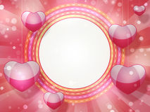 Frame for Valentine's Day Royalty Free Stock Image