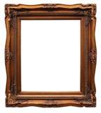 Frame van baguette op wit Royalty-vrije Stock Afbeelding